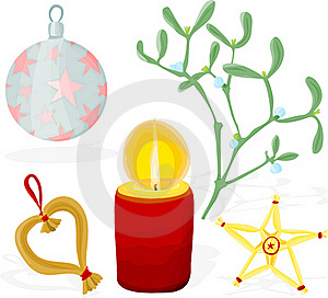 Christmas Set 01 Stock Photography - Image: 15969382