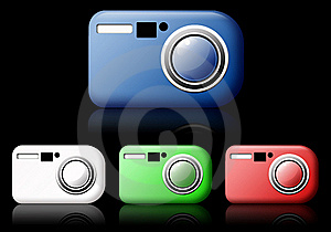 Camera Web Icon Royalty Free Stock Photo - Image: 15970125