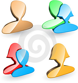Users Icons Stock Images - Image: 15971104