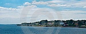 Coastal Settlement, Scandinavia Royalty Free Stock Photo - Image: 15972755