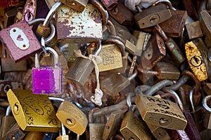 LOCKS OF LOVE Stock Photo - Image: 15973640