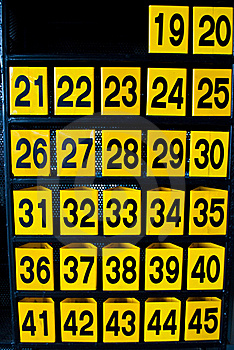 Numbers Stock Photography - Image: 15973652