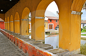 Ancient Washbasins. Antigua, Guatemala Royalty Free Stock Photo - Image: 15974455