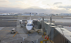 Aircraft In Airport Royalty Free Stock Photo - Image: 15976155