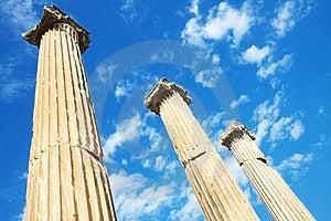 Tempiale Di Hadrian In Ephesus, Turchia Immagine Stock - Immagine: 15976411