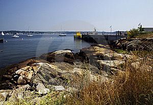 Beside The Harbor Stock Photos - Image: 15976553