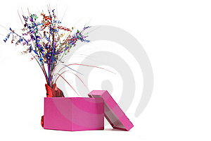 Pink Gift Box Royalty Free Stock Image - Image: 15976846