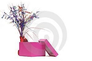 Pink Gift Box Royalty Free Stock Image - Image: 15976846