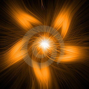 Golden Twirl Stock Photos - Image: 15977343