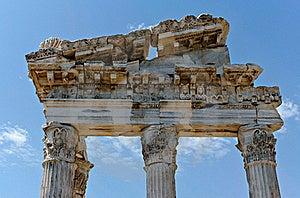 Antique Ruins In Ephesus Royalty Free Stock Photos - Image: 15977538