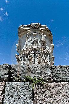 Antique Ruins In Ephesus Royalty Free Stock Image - Image: 15977656