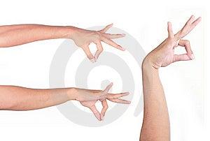 Hand Pinching Royalty Free Stock Photos - Image: 15978288
