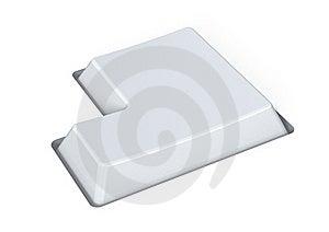 Blank White Key - Enter Royalty Free Stock Image - Image: 15978536
