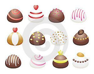 Chocolate Candies Stock Photography - Image: 15979222