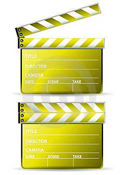 Golden Clapboard Stock Image - Image: 15982831