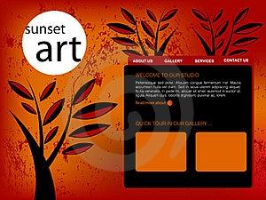 Website Template Stock Image - Image: 15983131