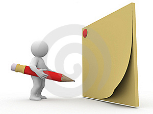 Note Concept Royalty Free Stock Photography - Image: 15984567