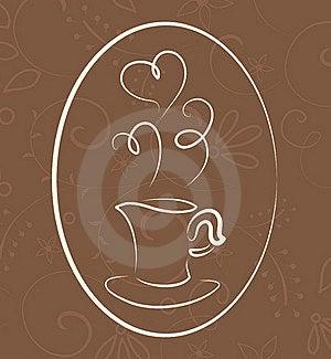 Coffee Symbol Royalty Free Stock Photos - Image: 15985278