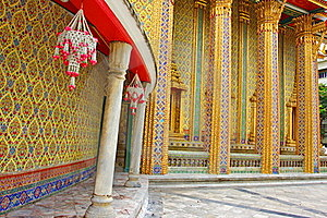 Wat Rajabopit.The Temple In The Bangkok. Royalty Free Stock Photography - Image: 15985907