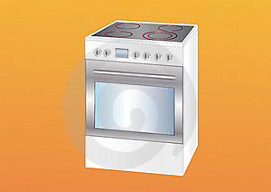 Modern Cooker Royalty Free Stock Photos - Image: 15988598
