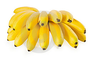 Mini Banana Royalty Free Stock Images - Image: 15989399