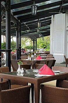 Luxury Resort Dining Royalty Free Stock Image - Image: 15991466