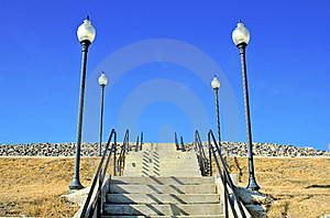 Stairway To Nowhere Royalty Free Stock Photography - Image: 15994447