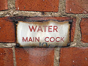 Water Cock Wall Royalty Free Stock Image - Image: 15994526