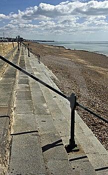 Steps On Beach Stock Photos - Image: 15994603