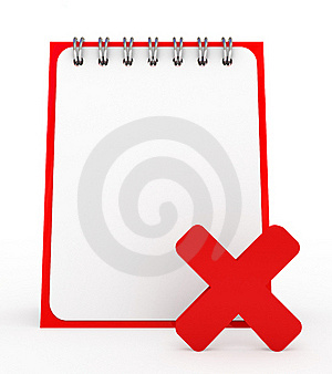 Empty Notepad Stock Photos - Image: 15995393