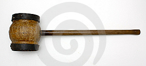 Huge Hammer Royalty Free Stock Image - Image: 15996226