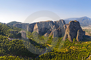 Meteora Monastery In Greece Stock Image - Image: 15996661