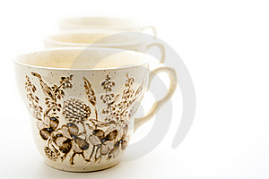 Cups With Pattern Stock Photo - Image: 15996980