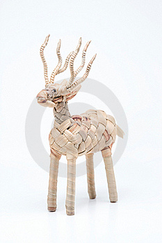 Isolet Of A Deer Weave Stock Photos - Image: 15997053