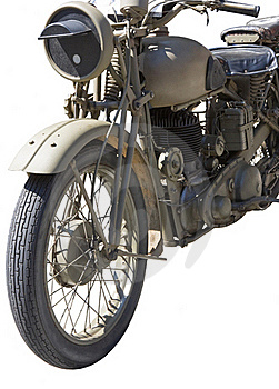 Vintage Motorcycle Stock Image - Image: 15997621