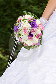 Colorful Wedding Bouquet Royalty Free Stock Images - Image: 15998599