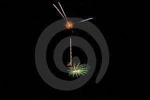 Bombs Bursting In Air Stock Image