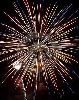 Fireworks Show Vii Free Stock Image