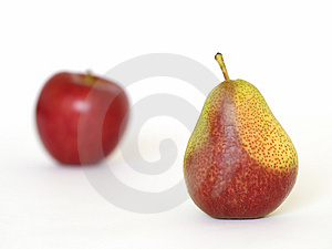 Apple And Pear Free Stock Images