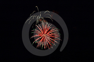 Bombs Bursting In Air Free Stock Image