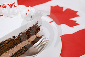Canada Day Celebrations Stock Image
