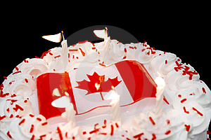 Canada Day Celebrations Stock Photos