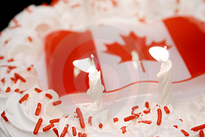 Canada Day Celebrations Stock Images