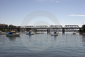 Iron Cove Bridge Stock Images