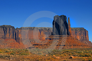 Monument Valley 4 Stock Photography
