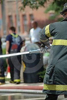 Firemen Free Stock Image