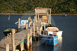 Landing Stage Free Stock Photography