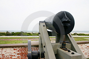 Civil War Naval Fort Free Stock Photo