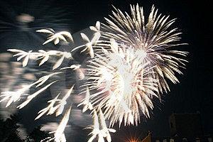 Bricktown Fireworks Ii Free Stock Photos