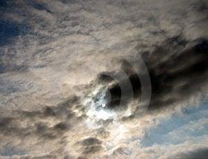 Hidden Sun Free Stock Image